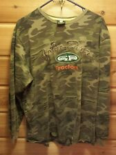 John Deere Camo Shirt General Purpose Raised Graphics XL Tractor Hunting
