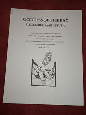 Goddess of the Bay #5 December 1998 Michael Laimo Stefano Donati horror fanzine