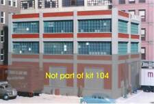 City Classics 104 HO 2 story add-on for Smallman St Warehouse4#103 MODELRRSUPPLY