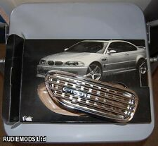 E-Tech Chrome BMW M3 Style Side Vents Functional 1 PAIR