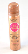 L'OREAL SUBLIME BRONZE EXPRESS PRO SELF TANNING DRY MIST FOR FACE 75ml