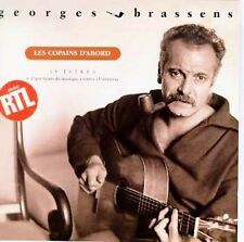 LES COPAINS D'ABORD BY GEORGE BRASSENS (CD-1998 Universal/Polygram) FRENCH POP