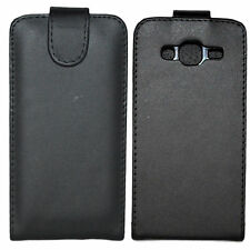 Black Magnetic Flip PU Leather Case Protectiv Shield Cover For Samsung Galaxy J3