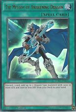 3 X YU-GI-OH ULTRA RARE: THE MELODY OF AWAKENING DRAGON - LDK2-ENK26 1ST EDITION