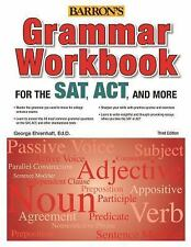 Grammar Workbook for the SAT, ACT, and More, 3rd Edition, Ehrenhaft  Ed. D, Geor