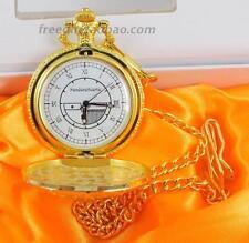 anime Pandora Hearts PH Watch Cosplay Oz.Vessalius Gold Watch With Chain