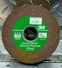 Deburring Scotch-Brite Wheel 3M 4x1x1