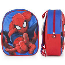 IT-40101-29-ZAINETTO SPIDERMAN 3D Zainetto Junior DisneY (31 x 27 x 10 cm )