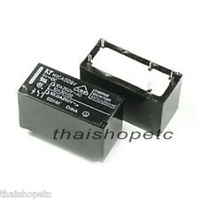 5 x Power Relay Coil 12VDC 12V SPDT Contact Rating 10A 250VAC 30VDC