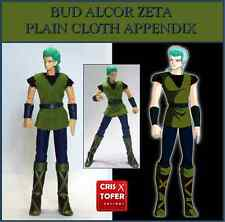 BUD ALCOR ZETA PLAIN CLOTH APPENDIX,para SAINT SEIYA MYTH CLOTH Asgard SYD MIZAR