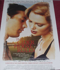 Cinema Poster: CIDER HOUSE RULES THE 1999 (One Sheet) Tobey Maguire