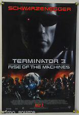 TERMINATOR 3: RISE OF THE MACHINES ROLLED ADV ORIG 1SH MOVIE POSTER (2003)