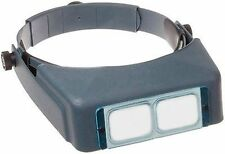 Donegan DA-7 OptiVISOR Headband Magnifier, 2.75X Magnification Glass Lens