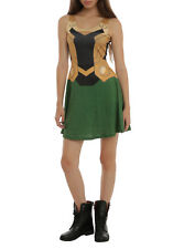 Her Universe Marvel Loki costume Dress (2XL) Plus Size