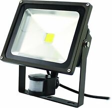 Westgate LED Flood Lights w/ PIR Motion Sensor LF-10CW-P 5000K
