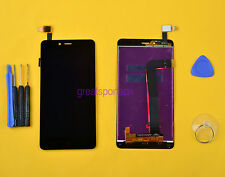 Black For Xiaomi Hongmi Note 2/Redmi Note 2 LCD Display Touch Glass Panel+Tools