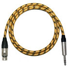 Sommer Vintage Balanced Microphone Pro Studio Lead. Female XLR to Jack Cable.