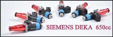 fit Nissan Skyline rb26dett rb2 r33 r34 r32 Siemens Deka 650cc fuel injectors