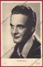 GIUSEPPE RINALDI 03 ATTORE ACTOR ACTEUR CINEMA MOVIE STAR PEOPLE Cartolina