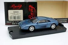 Bang 1/43 - Ferrari 348 TB Bleue metal