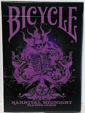 Purple Limited Edition Karnival Midnight Purple Playing Cards Rare Bicycle Deck