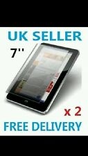 "2 x  SCREEN PROTECTOR FOR 7"" INCH  TABLET PC EPAD APAD"