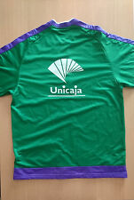 Chaqueta baloncesto warm up jacket basketball Unicaja match worn