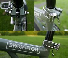 Brompton Bare hand adjustable SPRING Seatpost Clamp (MiniMODs)