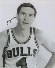 Jerry Sloan AUTOGRAPH CHICAGO BULLS 8X10 PHOTO SIGNED