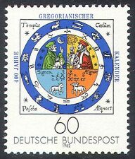 Germany 1982 Gregorian Calendar/Zodiac Signs/Time/History 1v  (n25102)