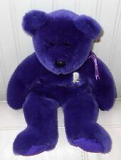 """TY BEAR Beanie PRINCESS Diana Plush Stuffed Large Buddies Buddy 1998 14"""""""