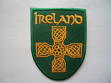 Eire Irish Ireland Sew On / Iron On Cloth Patch Rugby Football MMA