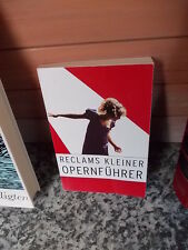 Reclams kleiner Opernführer, von Rolf Fath, aus dem Philipp Reclam jun. Verlag