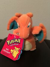 NEW NWT 1998 Vintage Nintendo POKEMON CHARIZARD #06 Stuffed Plush Doll Hasbro Go