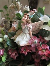 Cicely Mary Barker STORK'S BILL Flower Fairy Ornament Figurine RETIRED!  #87029