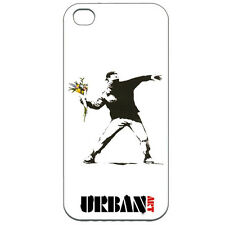 New - Banksy Grafitti Urban Art iPhone 5 Case Flower Throwing