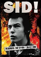 SID VICIOUS  BY THOSE WHO KNEW HIM  DVD  NEW & SEALED SEX PISTOLS  PUNK