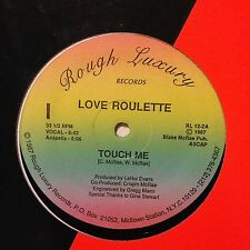 "Love Roulette-Touch Me-12"" Single-Rough Luxury"