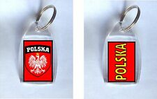Poland Polska Polish Key Ring / Fob - Ideal Gift