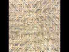 "8 yd PHILLIP JEFFRIES ""Diamond Weave"" Mississippi Blue Paperweave Wallpaper 4453"