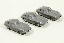 457 Typ 1C Wiking Jaguar E 1964 - 1994 / umbragrau - Lot defekter PKWs