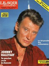 LE SOIR illustré N°2885 johnny hallyday 1987