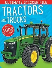 Ultimate Sticker File Tractors and Trucks by Make Believe Ideas (2014,...