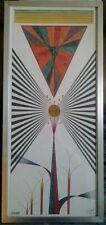DEAN TAVEL-SHARP(DESIGN 2) MIXMEDIA. SIGNED/DATED'79. ORIGINAL. FRAMED.