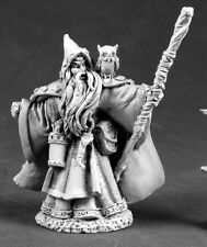 Qualanar Wizard Reaper Miniatures Dark Heaven Legends Mage Spell Caster Magic