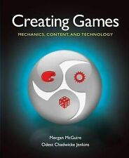 Creating Games: Mechanics, Content, and Technology, Jenkins, Odest Chadwicke, Mc
