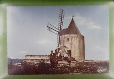 CPA France Fontvieille Moulin de Daudet Windmill Windmühle Costume Folklore w256