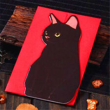 Cats C Holiday Greeting Cards Korea Message Memo Card X'mas Gift 1pc ♫