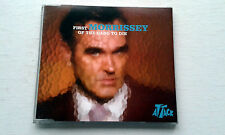 MORRISSEY: THE FIRST OF THE GANG TO DIE: CD SINGLE MINT