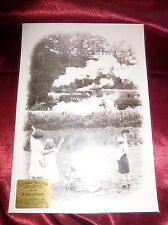 Country Lovers STEAM COLLECTION Photograph No34 Friends LMS 1930s Magic Lantern